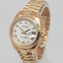 Rolex DateJust 18K Rose Gold 26mm Watch, Full Set, Serviced by...
