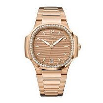 Patek Philippe Nautilus Rose Gold Diamonds Watch