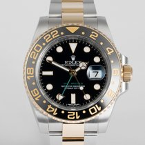 "Rolex GMT-Master II Gold & Steel ""5 Year Warranty"""
