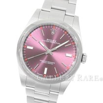 "Rolex Oyster Perpetual Red Grape Dial Steel 39MM ""Random..."