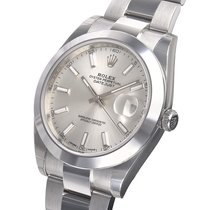 Rolex Datejust 41mm Stainless Steel 126300 Silver Index - 126300