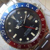 Rolex 1982 RARE Transitional Quick Set  Matte Dial Rolex GMT...