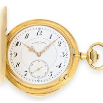 A. Lange & Söhne Pocket watch: very fine, big and heavy ...