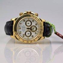 Rolex Daytona 18k Gold 16518 Zenith - Box & Papiere -...