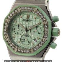 Audemars Piguet Royal Oak Offshore Chronograph Lady Diamond Bezel