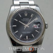 Rolex Oyster Perpetual Datejust Noir  116234 Carte Rolex +...
