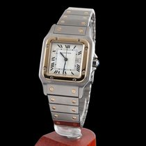 Cartier SANTOS STELL AND GOLD