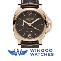 Panerai LUMINOR 1950 8 DAYS GMT ORO ROSSO - 44MM Ref. PAM00576