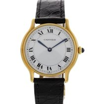 Cartier Ronde Vintage 18K Yellow Gold Watch