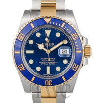롤렉스 (Rolex) Submariner Blue/18k gold Ø40mm - 116613 LB