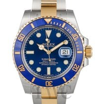 ロレックス (Rolex) Submariner Blue/18k gold Ø40mm - 116613 LB