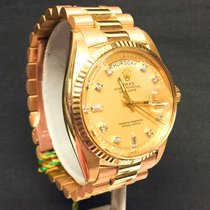 Rolex Daydate w/original Yellow  Diamond Dial