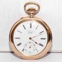 A.Lange&Söhne,Glashütte Gold Taschenuhr Zertifikat von 1899
