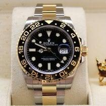 勞力士 (Rolex) 116713LN  GMT-MASTER II  Gold & Steel