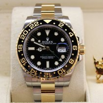 Rolex 116713LN  GMT-MASTER II  Gold & Steel