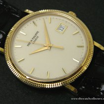 Patek Philippe : Very Rare Calatrava Clous de Paris Porcelaine...
