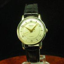 Dugena Festa 14kt 585 Gold Handaufzug Herrenuhr / Kaliber Eta...