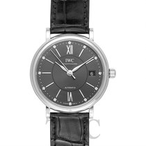 IWC Portofino Automatic 37 Dark Grey Steel/Leather 37mm - IW4581