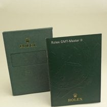 Rolex GMT-Master II Manual Info Booklet 2008 English