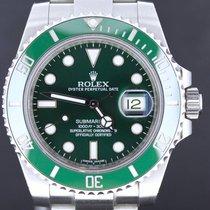 Rolex Submariner Steel Date Green 'Hulk' Full Set 2013...