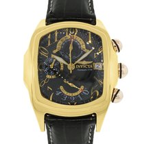 Invicta 5220903-021 Lupah 18k  Gold Chronograph Watch