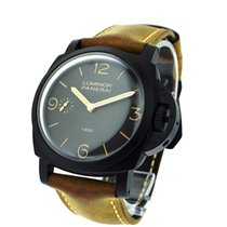 Panerai PAM00375 PAM 375 - Luminor 1950 3 Day in Brown...