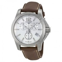 Longines Men's L36604765 Conquest Chronograph Watch
