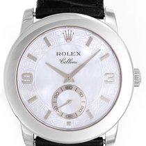 Rolex Cellini Cellinium Platinum Men's Watch 5240/6