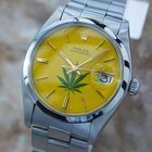Rolex 6694 Manual Oysterdate Precision Mens 1977 Stainless St...