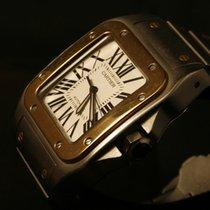 Cartier SANTOS 100 XL GOLD & STEEL BRACELET