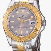 Rolex Yachtmaster 35mm Steel and Gold
