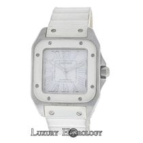 Cartier Authentic Ladies Cartier Santos 100 2878 W20122U2 Steel