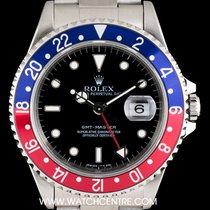 ロレックス (Rolex) Stainless Steel Pepsi Bezel GMT-Master Gents...