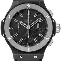 Hublot Big Bang Ceramic Ice Bang 44mm 301.ck.1140.rx Black Chrono