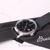 Breitling Transocean Date Black Dial