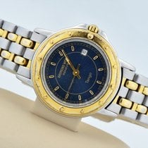 Raymond Weil Tango Two Tone Stainless Steel Blue Dial 5360...