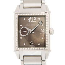 芝柏 (Girard Perregaux) Vintage 1945 Stainless Steel Brown...