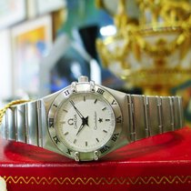 Omega Constellation Stainless Steel 22mm Quartz Watch New