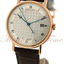 Breguet Classique Automatic, Silver Dial - Rose Gold on Strap