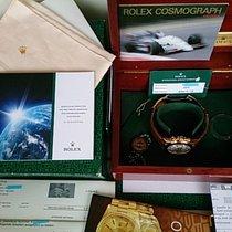Rolex DAYTONA REF 16518 GG 18K WIE NEU+LC100+ ROLEX REVISION