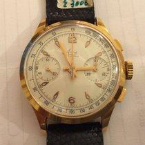 Avia Chronograph Cronografo Manuale Manual Oro Gold Landeron 248