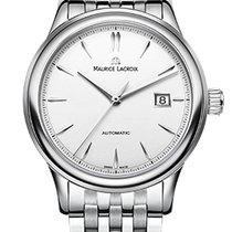 Maurice Lacroix Les Classique Date Silver Index, White Dial,...
