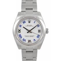 ロレックス (Rolex) Oyster Perpetual 31 Ladies Midsize 177200-WHTBRW...