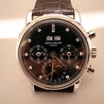 Patek Philippe Chronograph Perpetual Calendar Black Dial - 3970EP