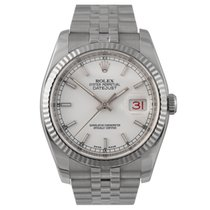 Rolex Datejust Steel with White Dial, Ref: 116234