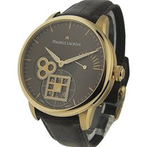 Maurice Lacroix MP7158-PG101-700 Masterpiece Roue Carree Mens...