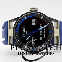 Locman Montecristo Titanium/Steel Automatic Blue 44mm
