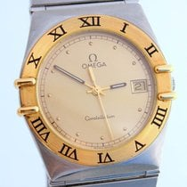 Omega Constellation gold & steel, quartz 32 mm