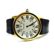 Cartier Ronde Solo 18kt Gold Quarz 36mm