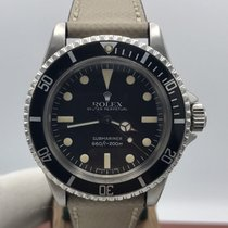 Rolex Submariner 5513 Pointed Crown Guard 1964 Factory Dial